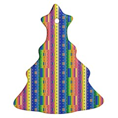 Psychedelic Carpet Ornament (christmas Tree)