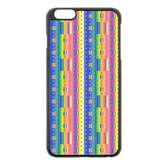 Psychedelic Carpet Apple Iphone 6 Plus/6s Plus Black Enamel Case by Jojostore