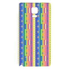 Psychedelic Carpet Galaxy Note 4 Back Case by Jojostore