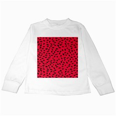 Watermelon Seeds Kids Long Sleeve T Shirts