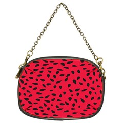 Watermelon Seeds Chain Purses (one Side)