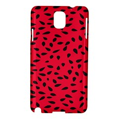 Watermelon Seeds Samsung Galaxy Note 3 N9005 Hardshell Case