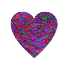 We Need More Colors 35b Heart Magnet by MoreColorsinLife