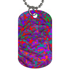 We Need More Colors 35b Dog Tag (two Sides) by MoreColorsinLife