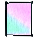 Pink green texture                                                      			Apple iPad 2 Case (Black) Front