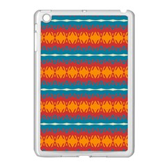 Shapes Rows                                                         			apple Ipad Mini Case (white) by LalyLauraFLM