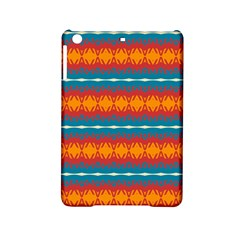 Shapes Rows                                                         			apple Ipad Mini 2 Hardshell Case by LalyLauraFLM