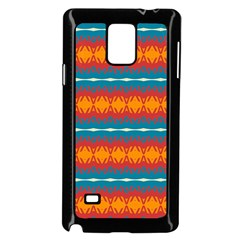Shapes Rows                                                         			samsung Galaxy Note 4 Case (black) by LalyLauraFLM