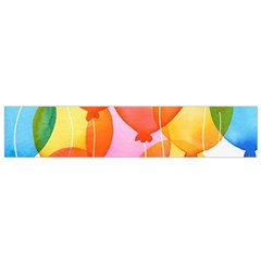 Rainbow Balloon Flano Scarf (small) by Brittlevirginclothing