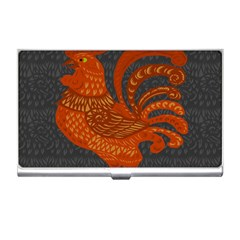 Chicken Year Business Card Holders by Valentinaart