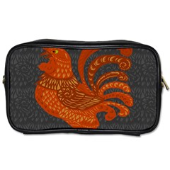Chicken Year Toiletries Bags 2 Side by Valentinaart
