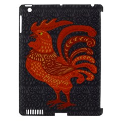 Chicken Year Apple Ipad 3/4 Hardshell Case (compatible With Smart Cover) by Valentinaart