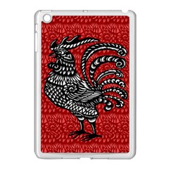 Year Of The Rooster Apple Ipad Mini Case (white) by Valentinaart