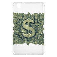 Money Symbol Ornament Samsung Galaxy Tab Pro 8 4 Hardshell Case by dflcprints