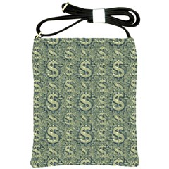 Money Symbol Ornament Shoulder Sling Bags
