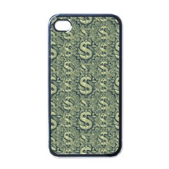 Money Symbol Ornament Apple Iphone 4 Case (black) by dflcprintsclothing