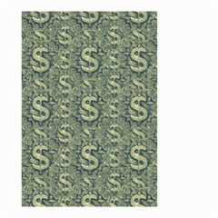 Money Symbol Ornament Small Garden Flag (two Sides) by dflcprintsclothing