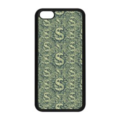 Money Symbol Ornament Apple Iphone 5c Seamless Case (black) by dflcprintsclothing