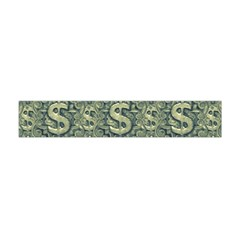 Money Symbol Ornament Flano Scarf (mini) by dflcprintsclothing
