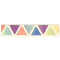 Colorful Triangle Flano Scarf (small) by Brittlevirginclothing