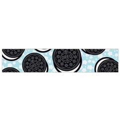 Cute Oreo Flano Scarf (small) by Brittlevirginclothing