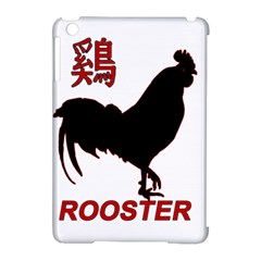 Year Of The Rooster   Chinese New Year Apple Ipad Mini Hardshell Case (compatible With Smart Cover) by Valentinaart