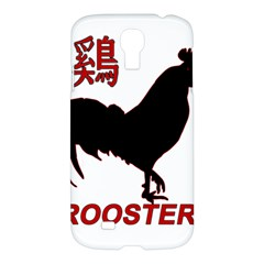 Year Of The Rooster   Chinese New Year Samsung Galaxy S4 I9500/i9505 Hardshell Case