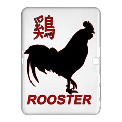 Year Of The Rooster   Chinese New Year Samsung Galaxy Tab 4 (10 1 ) Hardshell Case  by Valentinaart
