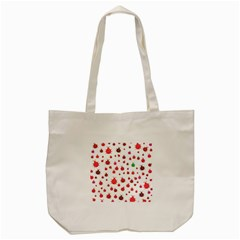 Beetle Animals Red Green Fly Tote Bag (cream)