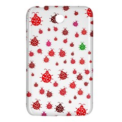 Beetle Animals Red Green Fly Samsung Galaxy Tab 3 (7 ) P3200 Hardshell Case  by Amaryn4rt