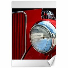 Antique Car Auto Roadster Old Canvas 24  X 36