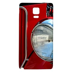 Antique Car Auto Roadster Old Galaxy Note 4 Back Case by Amaryn4rt