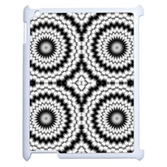 Pattern Tile Seamless Design Apple Ipad 2 Case (white) by Amaryn4rt