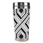 Pattern Tile Seamless Design Stainless Steel Travel Tumblers Center