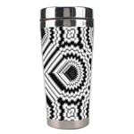 Pattern Tile Seamless Design Stainless Steel Travel Tumblers Right