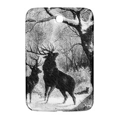 Stag Deer Forest Winter Christmas Samsung Galaxy Note 8 0 N5100 Hardshell Case  by Amaryn4rt