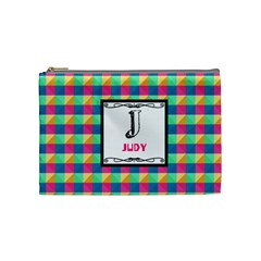 J For Judy Cosmetic Bag (medium) by daydreamer