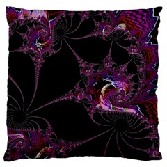 Fantasy Fractal 124 A Large Cushion Case (two Sides) by Fractalworld