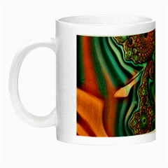Painted Fractal Night Luminous Mugs by Fractalworld