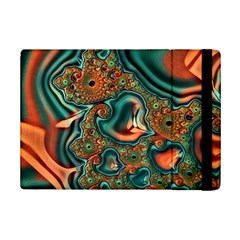 Painted Fractal Ipad Mini 2 Flip Cases by Fractalworld