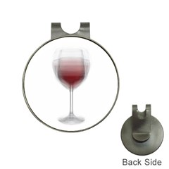 Wine Glass Steve Socha Hat Clips With Golf Markers by WineGlassOverlay