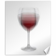 Wine Glass Steve Socha Canvas 8  X 10  by WineGlassOverlay