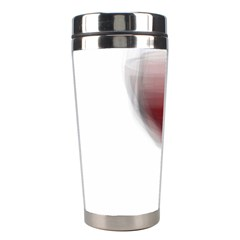 Wine Glass Steve Socha Stainless Steel Travel Tumblers by WineGlassOverlay