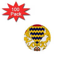 Coat Of Arms Of Chad 1  Mini Buttons (100 Pack)  by abbeyz71