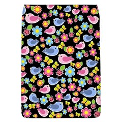 Spring Pattern   Black Flap Covers (l)  by Valentinaart
