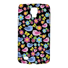 Spring Pattern   Black Galaxy S4 Active by Valentinaart