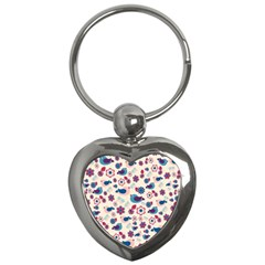 Vintage Spring Key Chains (heart)  by Valentinaart