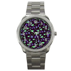 Spring Night Sport Metal Watch by Valentinaart