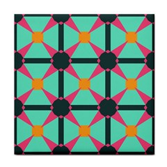 Pink Stars Pattern                                                          			tile Coaster by LalyLauraFLM
