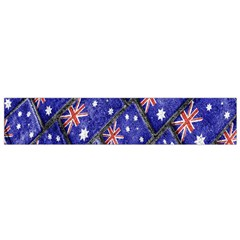 Australian Flag Urban Grunge Pattern Flano Scarf (small) by dflcprintsclothing